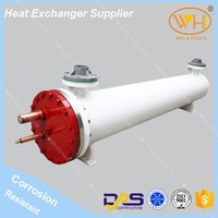 ISO Certification 19kw heat exchanger steel tube carbon shell, heat exchanger core,heat exchanger