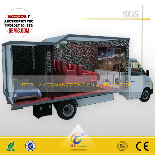Hot Sale 5d Cinema 5d Theatre Hydraulic,Truck Mobile 3d 4d 5d 6d 7d Cinema 7d 9d