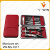 Pedicure Kit 12pcs Disposable Professional Red
