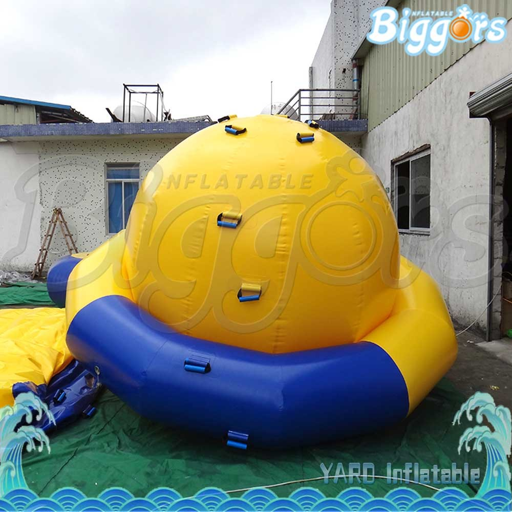 Inflatable Water Game Floating Spinner Water Saturn Disco Boat