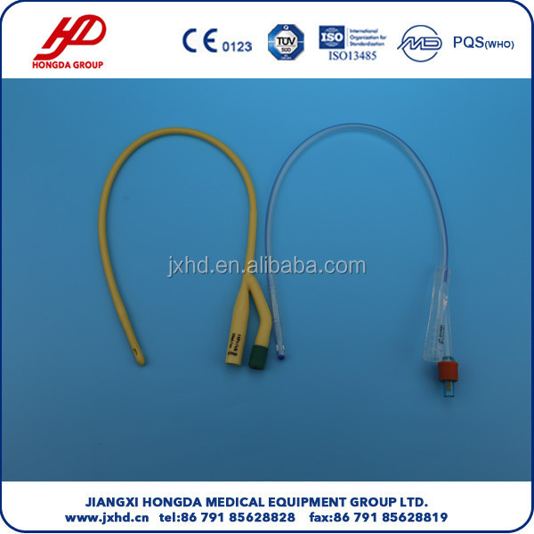 CE,ISO approved Latex Foley Catheter