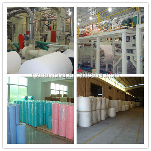 hot blast air Nonwoven Fabric Made in China