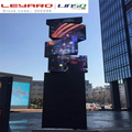 high totem revolving led video screen totem