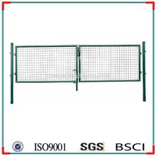 Free Samples Retractable Grill Fence Gate Design