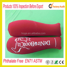 Flocked PVC Inflatable Plastic boot shape inserts
