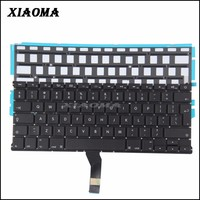 laptop notebook keyboard for Apple Macbook Air A1369 A1466 with backlight UK