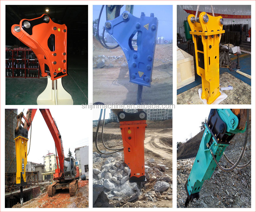 china rock breaker with chisel 75mm for Backhoe loader