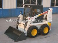 mini skid steer wheel loder with solid tire