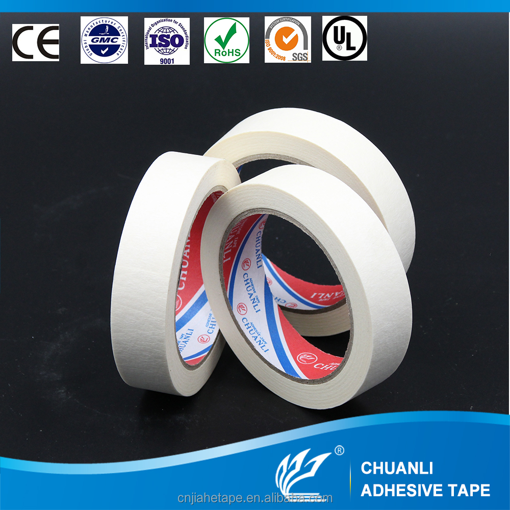 Masking Tape for Auto Industrial Car Painting Home Decoration
