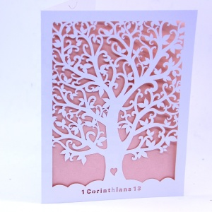 China factory supply Lace designs laser cut wedding invitation card factory