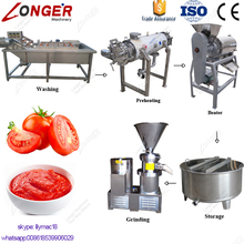 Hot Sale Fruit Jam Making Grinder Machine Tomato Paste Production Line