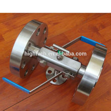 Stainless Steel Integral Double Block and Bleed Valve, DBB Valve