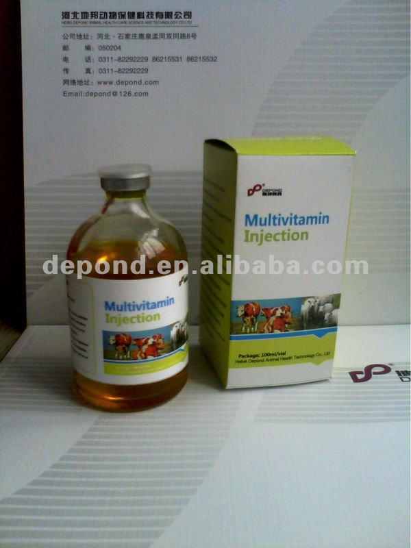 Multivitamins, Veterinary medicine,