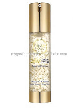 High quality premimum essence 24k gold caviar face serum