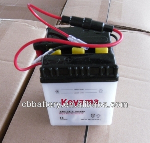 ON SALE!Standard motorbike battery 6N4-2A-4(6V4Ah) with favorable prices