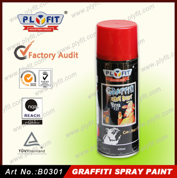 Plyfit Non Toxic Colorful Acrylic Graffiti Spray Paint
