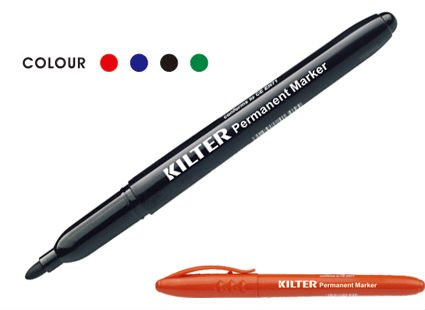 six color bullet point metallic color marker for gift card writing drawing