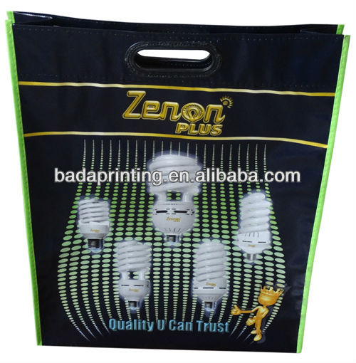 Handled non woven document bag