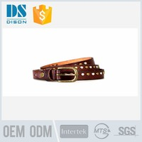 Custom bali beaded western belts for dresses in genuine leather quality