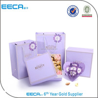 2017 Christmas paper gift box for jewelry wholesale
