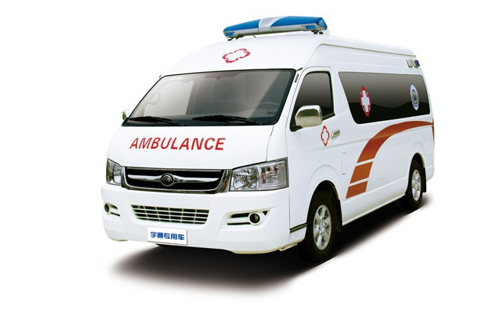 Yutong ZK5030XJH1 medical vehicle,transfer ambulance