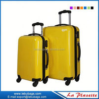 2015 hot Abs Printed Hard Shell Luggage