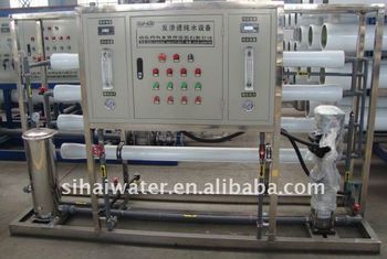 1000 liter per hour RO water treatment equipment