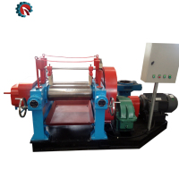 Two Roll Open Rubber Refiner Mill Used Open Mixing Mill