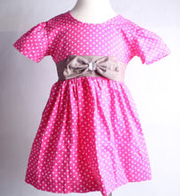 Fashion Korean Dress Clothing For Girls With Fully Polka Dots In Baby Toddler Dresses Kids Girls Evening Dresses