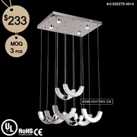 High Quality LED Pendant Light with K9 Crystal