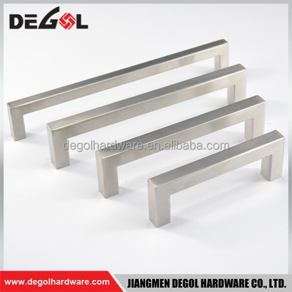 Top quality New style stainless steel chest of drawer handle factory