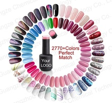 Perfect Match 2770 Colors Free Samples Soak Off LED UV Nail Gel Polish