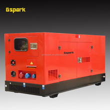 50Hz 3 phase Water cooled Soundproof Diesel generator 380V 14 kW