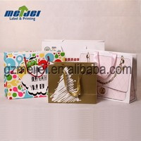 Custom luxury shopping/packaging/gift paper bag