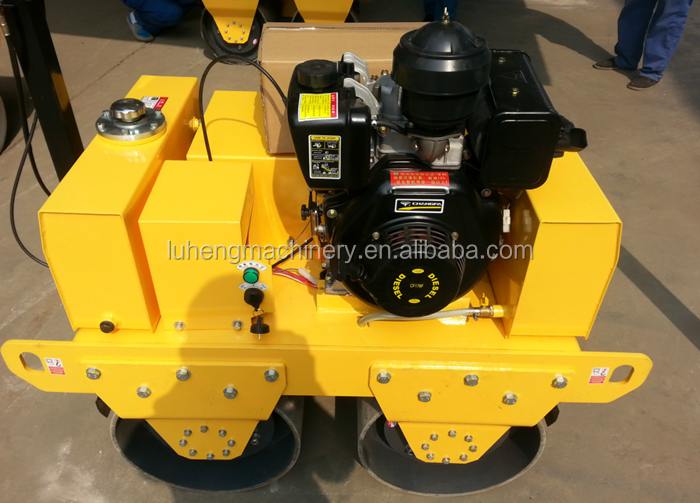 Factory sale walk behind single drum self-propelled vibratory road roller SYW-173