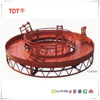 Custom Circle Lifting Suspended Access Platform,Chimney suspended system