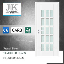 JHK Glass Doors For Cold Rooms Interior French Doors With Frosted Glass Tempered Glass Door