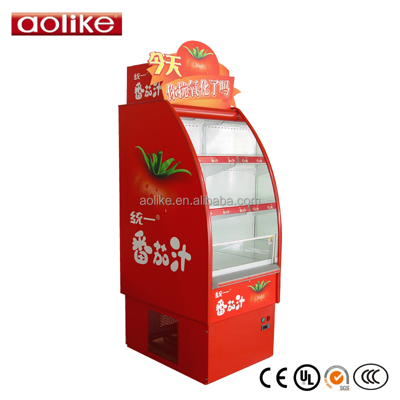 portable mini drink display chiller