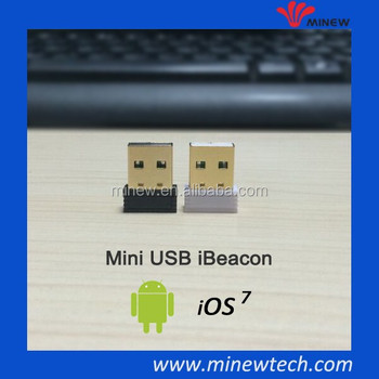 Mini USB iBeacon MFI licensed USB iBeacon&USB beacon