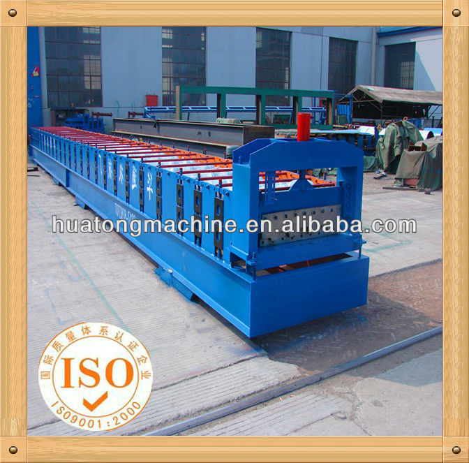Ceramic floor tile machine