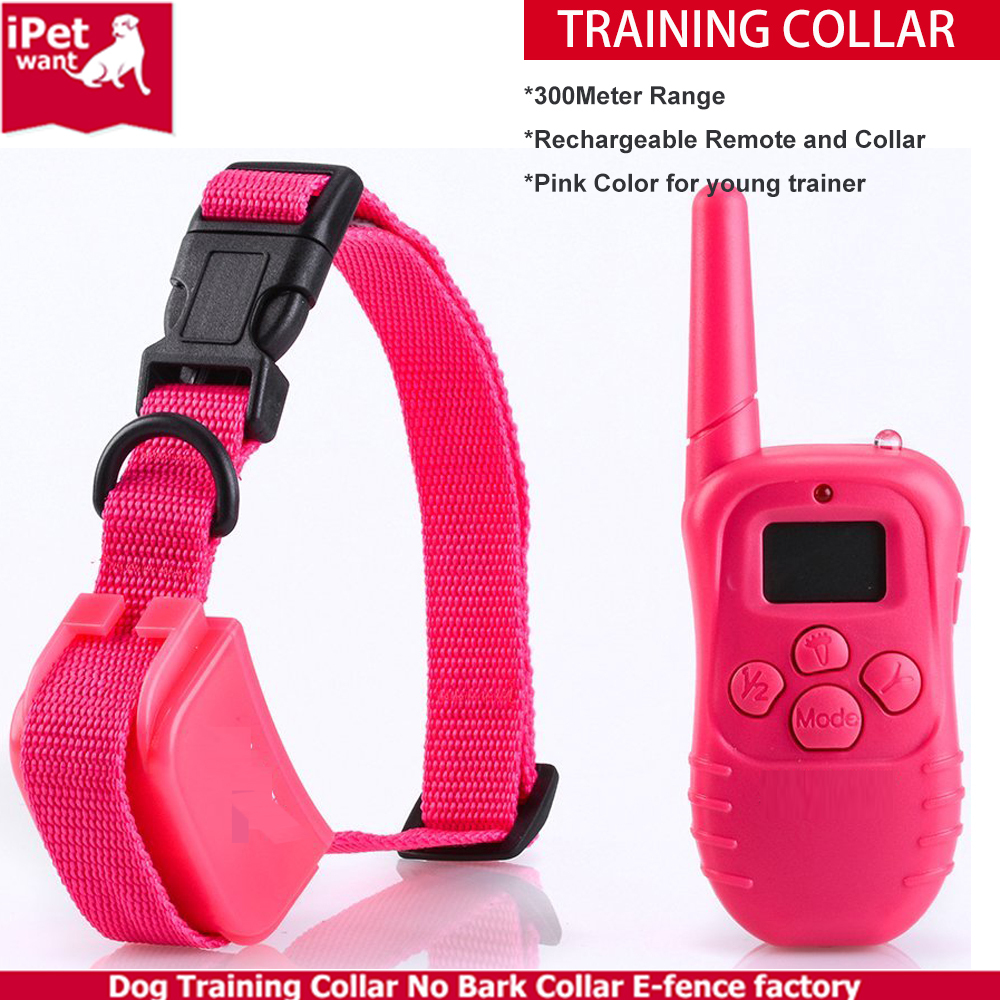 dog electronic shock training beep collar with bird sound control