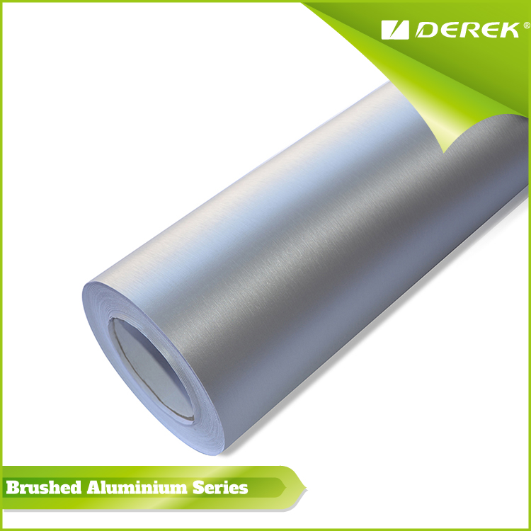 DEREK High Quality Brushed Aluminium Car Wrap Vinyl for Color Change