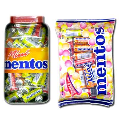 Mentos Mini Candy Roll 75 roll