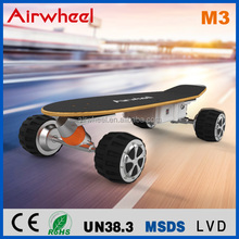 2016 hot sale Airwheel M3 four wheels electric skateboard with remote control with CE for wholesale