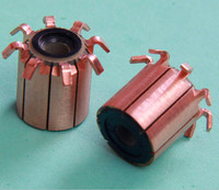 auto parts Starter Motor Commutator parts used in blender ,pump,DC motor