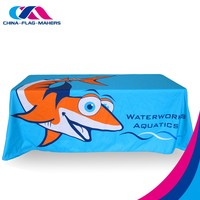 sequence fire retardant water proof cartoon table cloth