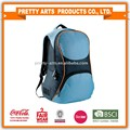 600D polyester backpack with PVC backing