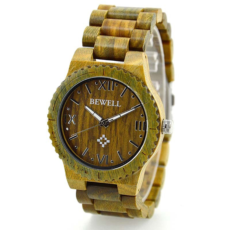 2018 Fashion Wrist Watch, Handmade Eco-Friendly Natural Wood Watch with Custom Logo