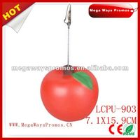 PU Foam Apple Shape Memo Holder