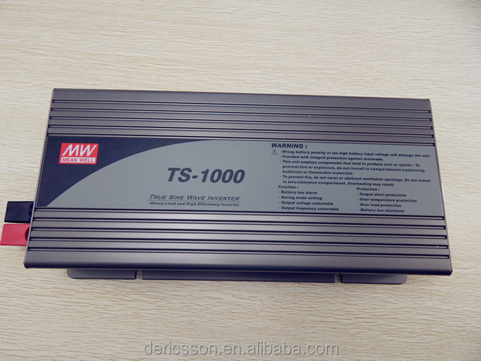 Original MEAN WELL TS-1000 1000w led power inverter DC/AC